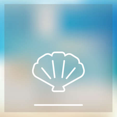 sea shell: Sea shell icon