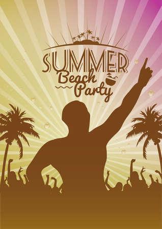 beach party: Summer beach party