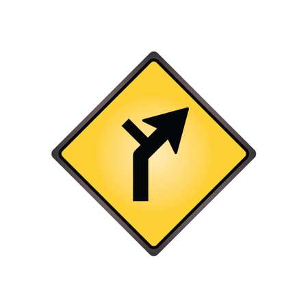 alineaci�n: Se�al de alineaci�n horizontal derecho