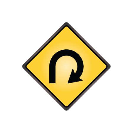 schleife: 270-Grad-Schleife Zeichen