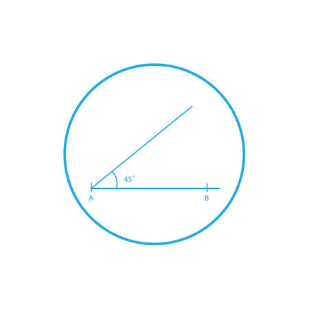 acute angle: Acute angle construction