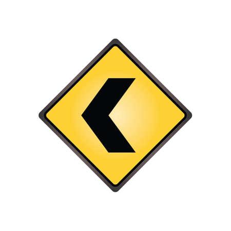 alignment: Se�al de alineaci�n de Chevron