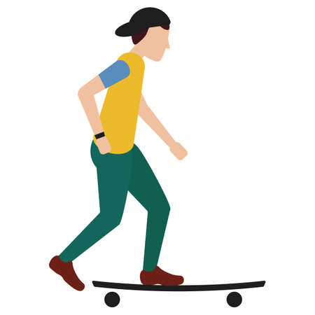 skateboard boy: Boy on skateboard