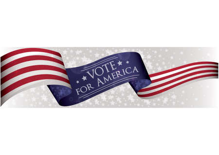 미국 선거 배너