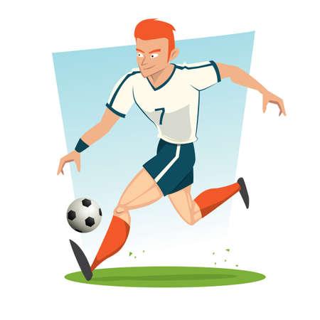 Soccer player 向量圖像