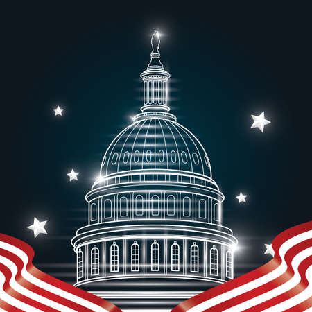 the capitol: US capitol building poster