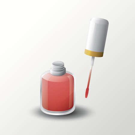 polish: Nail polish Illustration