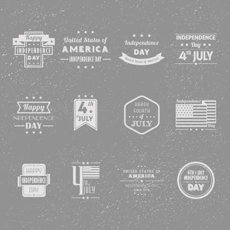 with sets of elements: Set of independence day labels