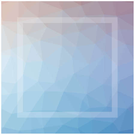rumpled: Faceted background