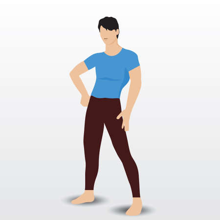 guy standing: Man standing