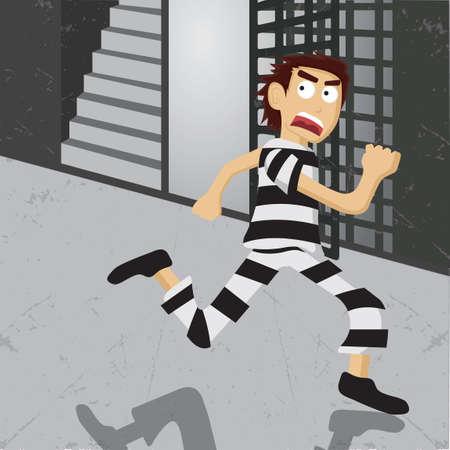 escaping: Thief escaping