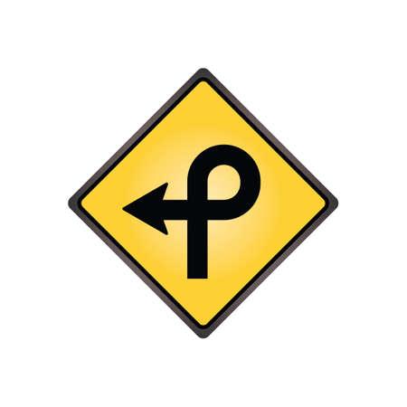 loop: Pretzel loop sign