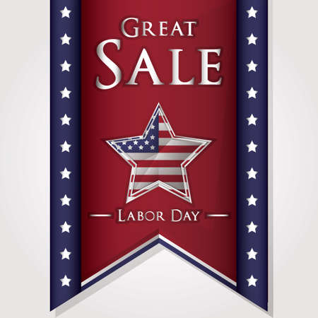 labor day: Labor day sale banner