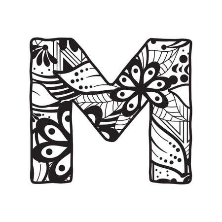 letra m: Letra M