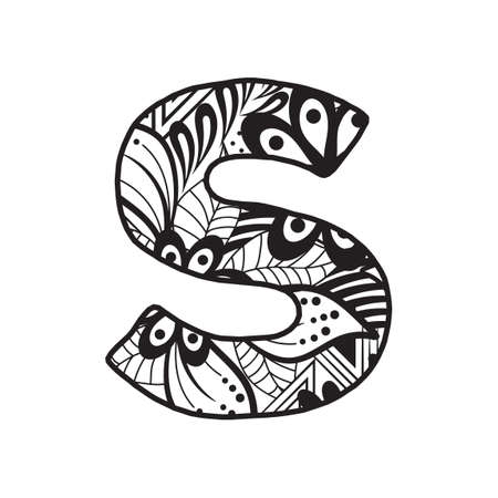 Letter S Illustration