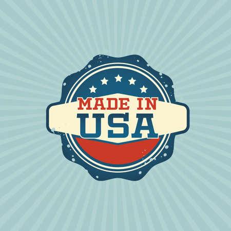 сделанный: Сделано в США этикетки
