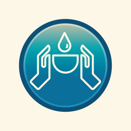 conserving: Conserving water concept