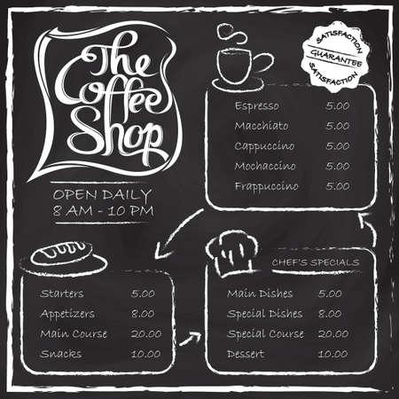 main course: The coffee shop menu