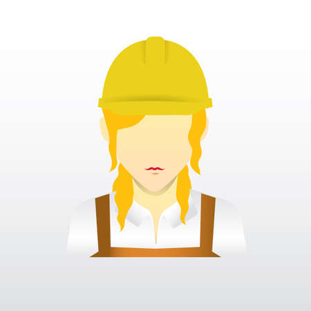 female construction worker: Female construction worker