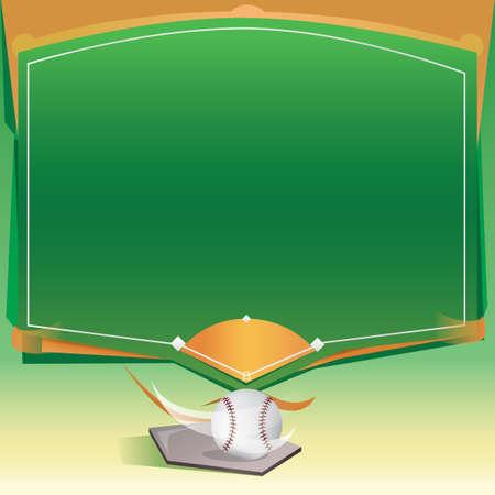 baseball field: Baseball field template