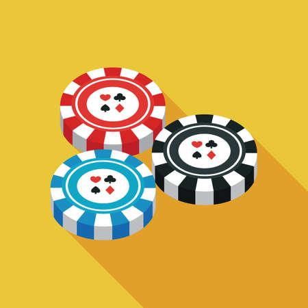 bet: Poker chips