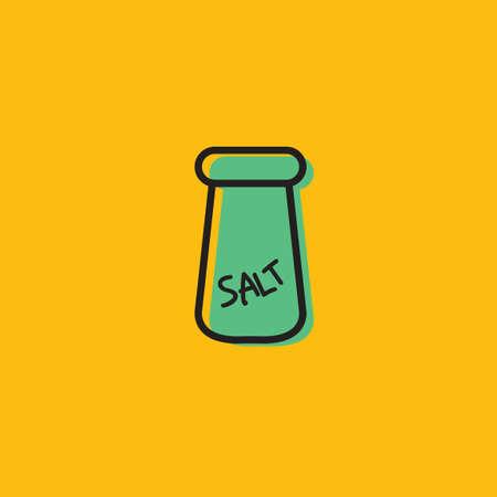 salt shaker: Salt shaker Illustration