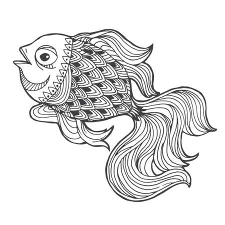 intricate: Intricate fish design