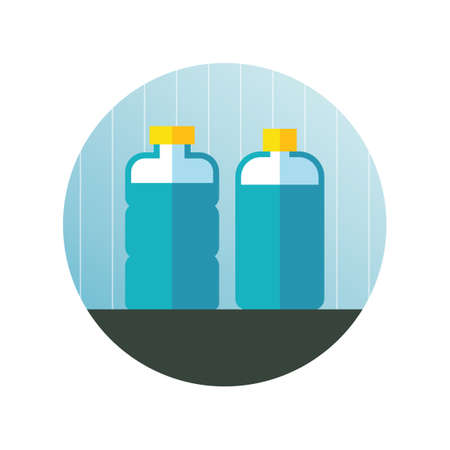 quench: Water bottles Illustration