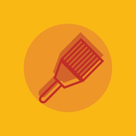 scraper: Paint scraper Illustration