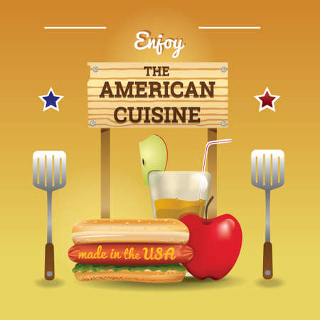 American cuisine wallpaper