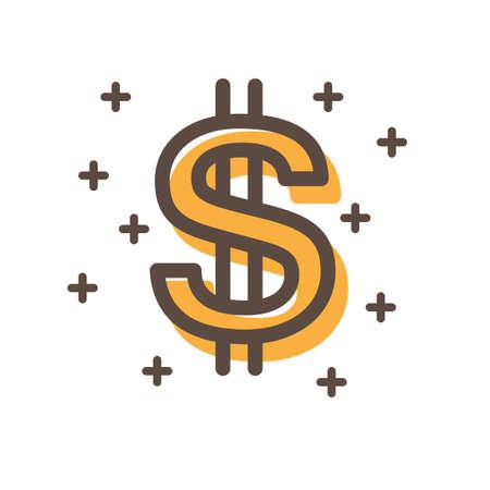 dollar symbol: Dollar symbol