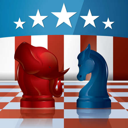 USA party symbols