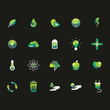 Set of ecology icons Imagens - 43241619