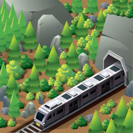 subway: Isometric subway train