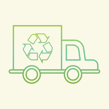 wastage: Recycle truck
