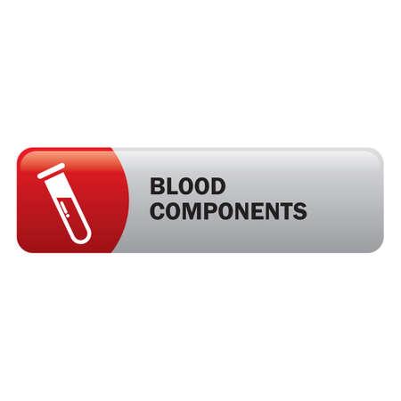 hemoglobin: Blood components Illustration