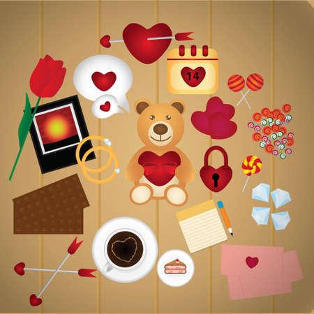 cafe bombon: Colecci�n de iconos del d�a de San Valent�n
