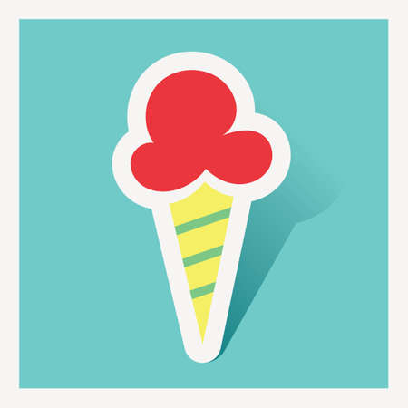 basic food: Ice cream cone