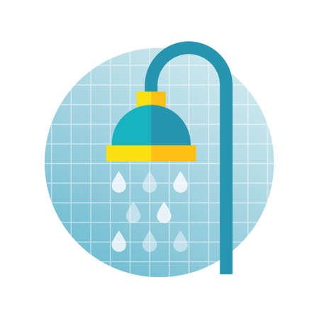 shower head: Shower head Illustration
