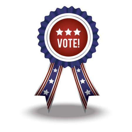 rosette: Vote rosette