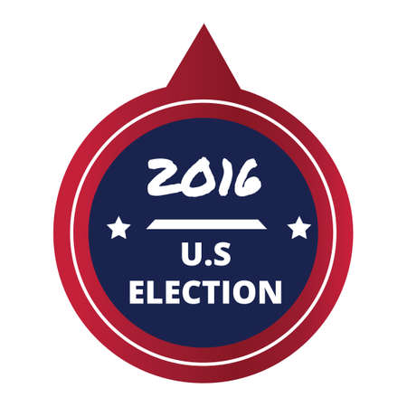 presidential: USA election label