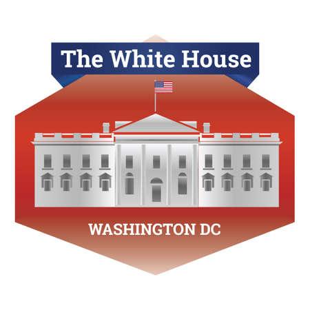 white house: The white house Illustration