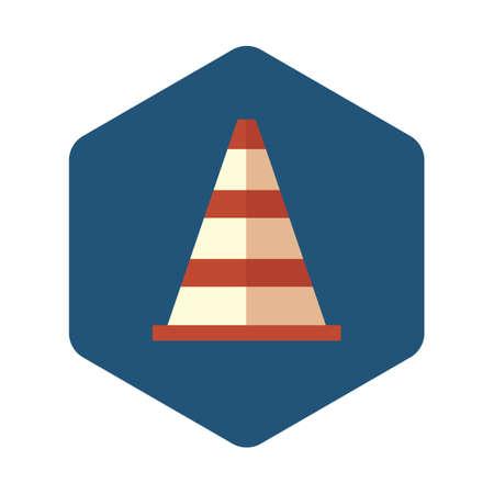 reflector: Traffic cone