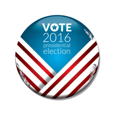 presidential: US election vote badge