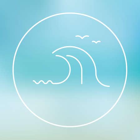 waves: Sea waves