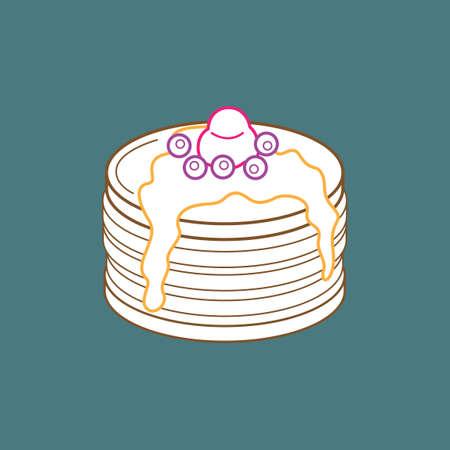 pancake: Pancake Illustration