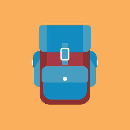 haversack: Backpack Illustration