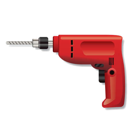 drilling machine: Drilling machine Illustration