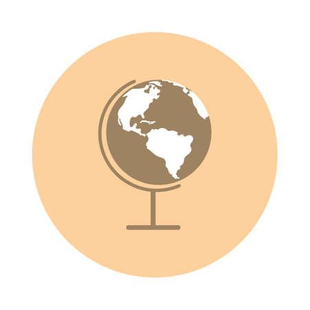 desk: Desk globe