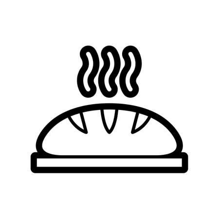 bread loaf: Bread loaf Illustration